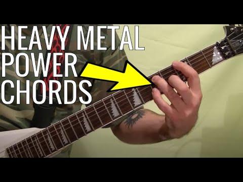 Guitar Lesson: POWER CHORDS ( Heavy Metal )