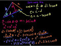 Фрагмент с конца видео - Proof of the law of cosines   Trig identities and examples   Trigonometry   Khan Academy