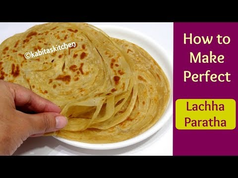 लच्छेदार पराठा | Lachha Paratha Recipe | Multi Layered Paratha | Malabari Paratha | Kabita's Kitchen