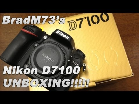 Nikon D7100 Unboxing!!!  Brand New for 2013!!!