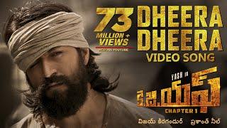 Dheera Dheera Full Video Song | KGF