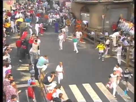 Encierro de San Fermín   14 de julio de 1996 480p