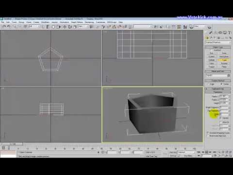 3DS Max Tutorial 02 - Creating basic shapes