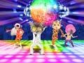 carte anniversaire disco