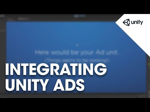 Live Training Apr. 22nd, 2015: Integrating Unity Ads