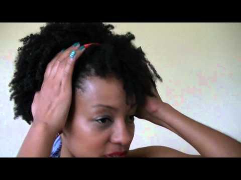 Cabelo Afro: Penteados Simples
