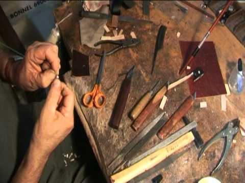 Bowmaker J-J Augagneur explains everything about making a bow!