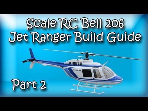 Scale RC Bell 206 Jet Ranger Build pt 2 - RC Aerodyne - UCea4iaxuo_c4E1DLuhYcn_w
