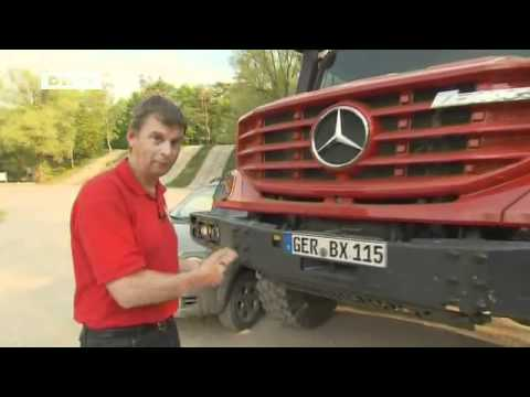compare it! Mercedes Benz Zetros - Fiat Panda Cross: David versus Goliath | drive it!
