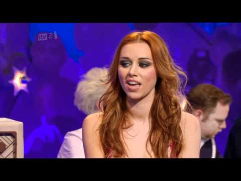 Una Healy (The Saturdays) - Celebrity Juice - 28th April 2011