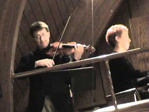 J.S. Bach, Sonata in E minor for Violin and Continuo, BWV 1023, movements one and two.