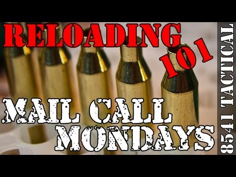 Mail Call Mondays #19 - Precision Rifle Reloading New Brass Prep