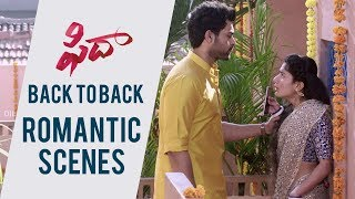Fidaa Love Scenes Back To Back