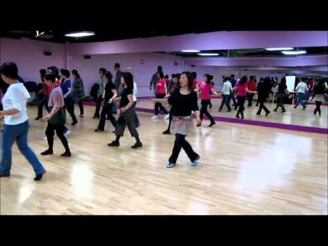 Cha Cha~Peter Ng-Line Dance (Walk thru & Danced)