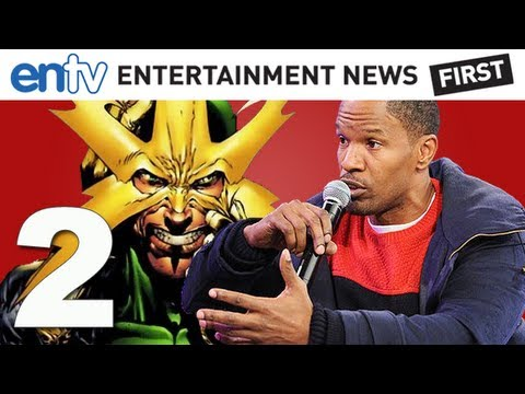 "Jamie Foxx Previews Amazing Spider-Man 2 ""Electro"" Details and More! ENTV"