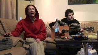 Eminem/FOTC/One Republic/ELO Mashup - Lose Yourself/Hurt Feelings/Apologize (Acoustic)