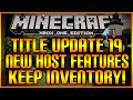 Minecraft: (Xbox360/XB1) NEW! TITLE UPDATE 19 HOST PRIVILEGES & ADVENTURE MODE EXPLAINED!