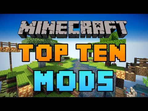 Top 10 Minecraft Mods 2012 1.2.5 - HD