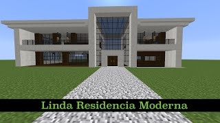 Youtube casa moderna 5 en minecraft c mo hacer for Casa moderna omarzcraft