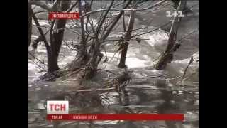 На Житомирщине затопило два автомобильных моста
