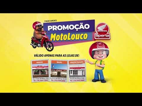 Promoção Moto Louco na Sperta Honda