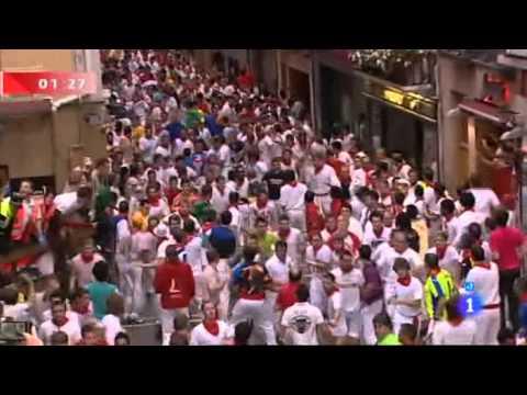 Encierro San Fermín Pamplona 8-7-2012