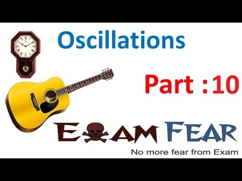 Physics Oscillations part 10 (Simple harmonic Motion Uniform Circular Motion ) CBSE class 11