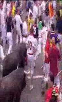 Primer encierro San Fermín 7 julio 2007 - CANAL 6 NAVARRA