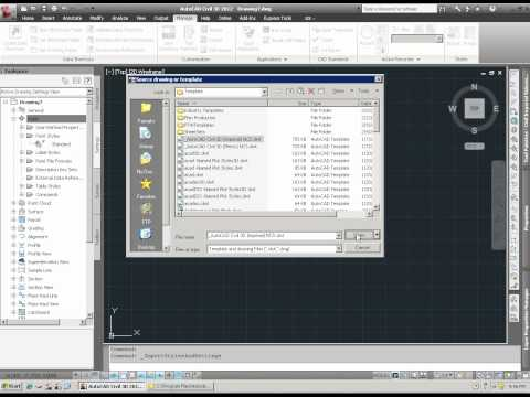 AutoCAD Civil 3D 2012 New Styles/Settings Functions