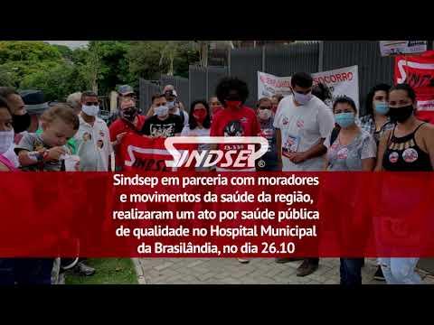 Muro do Hospital da Brasilândia desaba na primeira chuva; obra custou mais de R$ 230 milhões