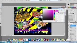 Speed Art adobe photoshop creando una publicidad sonidera