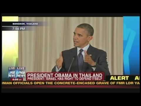 President Obama Prime Minister Yingluck Shinawatra Bangkok Thailand (November 18, 2012) [4/4]