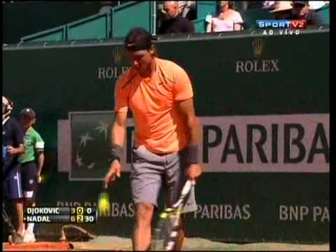 Rafael Nadal X Novak Djokovic - Masters 1000 Monte Carlo 2012 - Final Full Match (Jogo Completo)