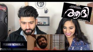 Aadhi Trailer Reaction   Pranav Mohanlal   Reaction by RajDeep