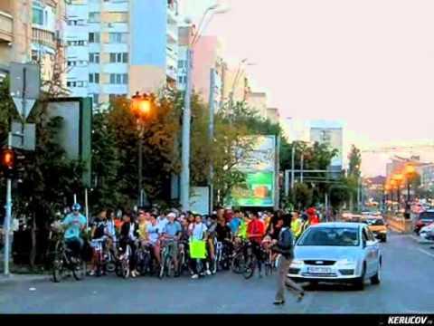 VIDEOCLIP Marsul Mobilitatii pe biciclete, 22 septembrie 2010