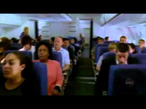 LOST: Jack and Rose conversation on the plane (1x01 Pilot)