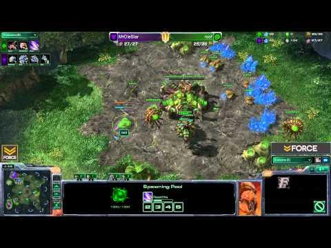 StarCraft 2 - DieStar [T] vs roof [Z] G3 (Commentary)
