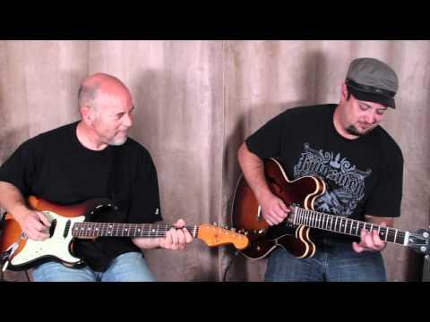 Guitar Solos - Marty Schwartz and Bob Ryan - Boss RC-3 - Looper Jam - Blues Rock Jam Jazz funk