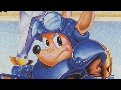 Classic Game Room HD - ROCKET KNIGHT ADVENTURES for Sega Genesis review