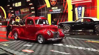 Bidder Buys 1940 Cherry Red Pick Up