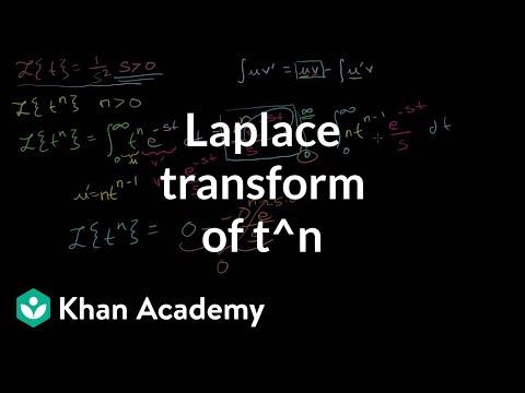 Laplace Transform of  t^n: L{t^n}