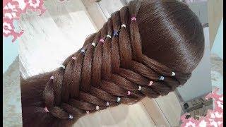 Youtube Peinado Para Ninas Recogido En Flor Con Ligas Peinados
