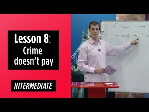 Intermediate Levels - Lesson 8: Crime doesn't pay