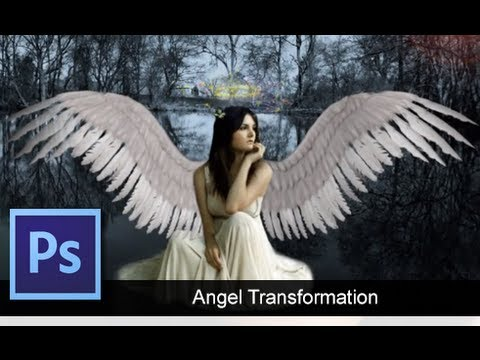 Adobe Photoshop CS6: Angel Transformation