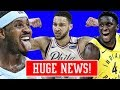 OLADIPO IS COPYING KOBES WORK ETHIC! BEN SIMMONS IS OUT FOR REVENGE! MELO FANS WILL HATE THIS..