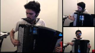 Thunderstruck - AC/DC - CharlesPlays (accordion cover)