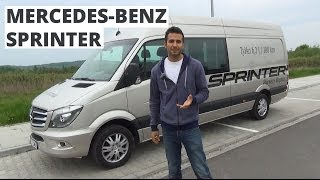 Mercedes-Benz Sprinter 316 CDI 163 KM, 2014 - prezentacja AutoCentrum.pl