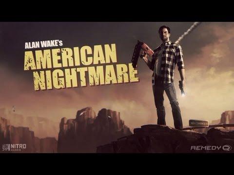 Alan Wake's American Nightmare ( Jugando ) ( ... poster