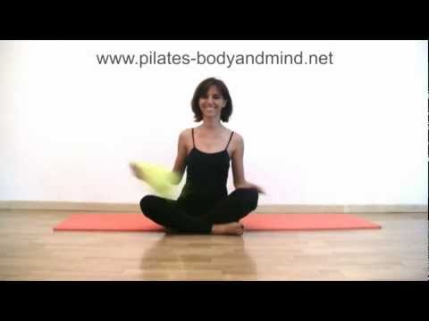 Pilates - Esercizi di Stretching per Gambe e Schiena (Parte 1)