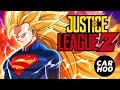 Justice League + Dragon Ball Z ( Fans Animation Superheroes Parody )